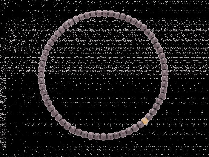 Bransoleta z brązowego hematytu